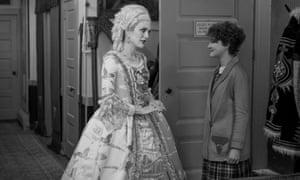 Millicent Simmonds as deaf runaway Rose with Julianne Moore in Wonderstruck. Photograph: Amazon Studios