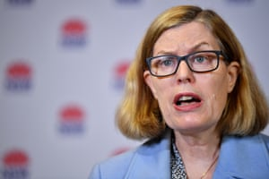 NSW chief health officer Dr Kerry Chant: 'My plea to the community is to come forward and get tested.'