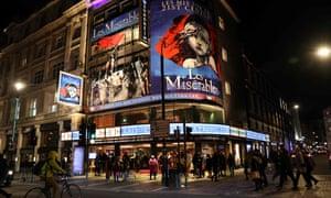 Les Miserables at Queen's Theatre, London