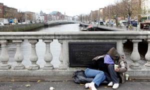 Dublin, where homelessness rose by 60% in 2015.