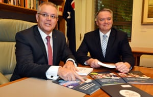 Australian budget: 'For Splash Out 2018 to land, the government progressives will have to grab onto it and wrestle with it for as long as there is a cheap jibe from Scott Morrison or a monotonal core message from Mathias Cormann'