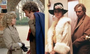 Ground-breaking … Nicolas Roeg's Don't Look Now, left, and Bernardo Bertolucci's Last Tango in Paris.