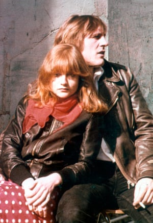 Huppert with Gérard Depardieu in Loulou (1980)