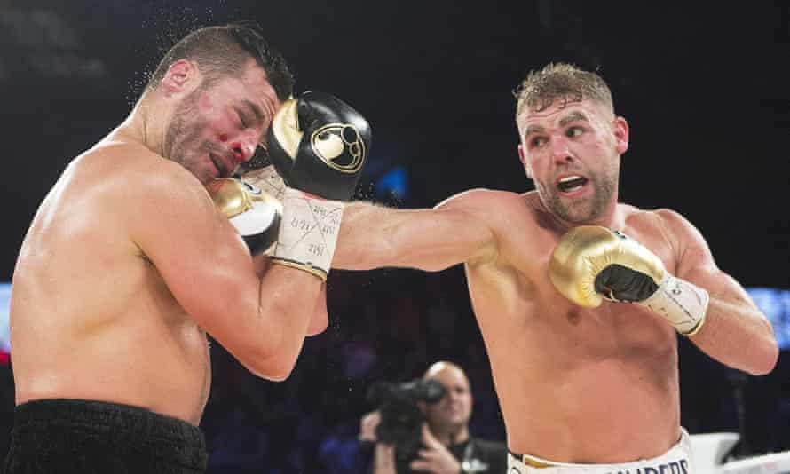 Billy Joe Saunders (right) beat David Lemieux in Canada last year but has since been involved in a number of incidents outside the ring.