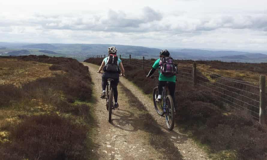 Shropshire Hills cycling