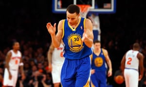 Stephen Curry – at the time yet to be named an All Star – during his 54-point game against the Knicks in 2013