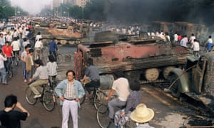 Tiananmen Square, 4 June 1989
