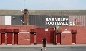 Barnsley's Oakwell stadium.