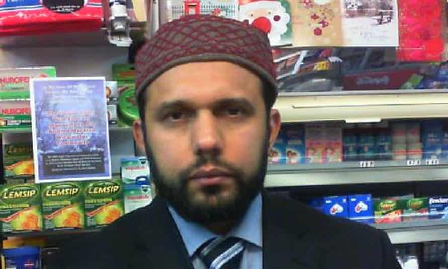 Asad Shah, the shopkeeper murdered in Glasgow.