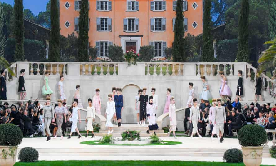 Chanel's spring/summer 2019 show in Paris last month