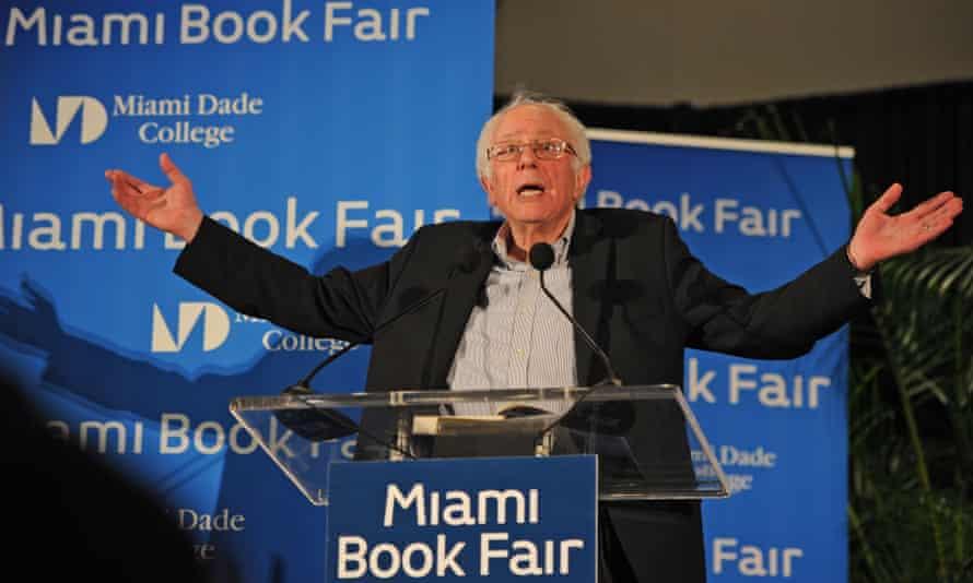 Bernie Sanders speaks in Miami, in November 2016.