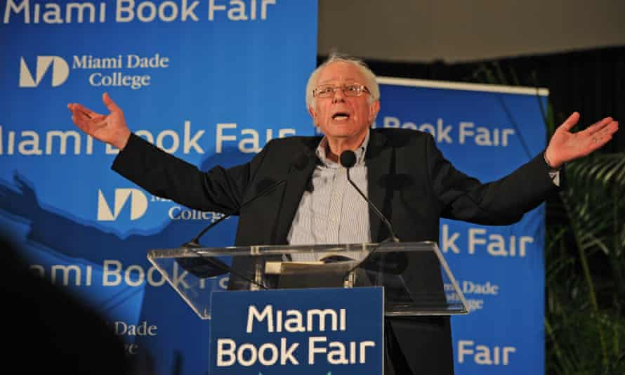 Miami Book Fair, Florida, USA - 19 Nov 2016Mandatory Credit: Photo by Larry Marano/REX/Shutterstock (7449530j) Bernie Sanders Miami Book Fair, Florida, USA - 19 Nov 2016