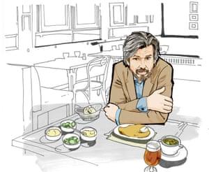Lunch With Karl Ove Knausgaard