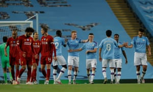 Manchester City 4-0 Liverpool: Premier League – as it happened | Football |  The Guardian