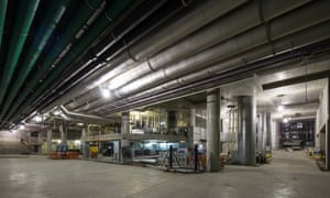 Barangaroo South's basement cooling plant operations