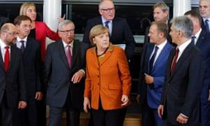 The leaders of EU members Austria, Bulgaria, Croatia, Germany, Greece, Hungary, Romania and Slovenia were attending the talks along with two non-members, Macedonia and Serbia.