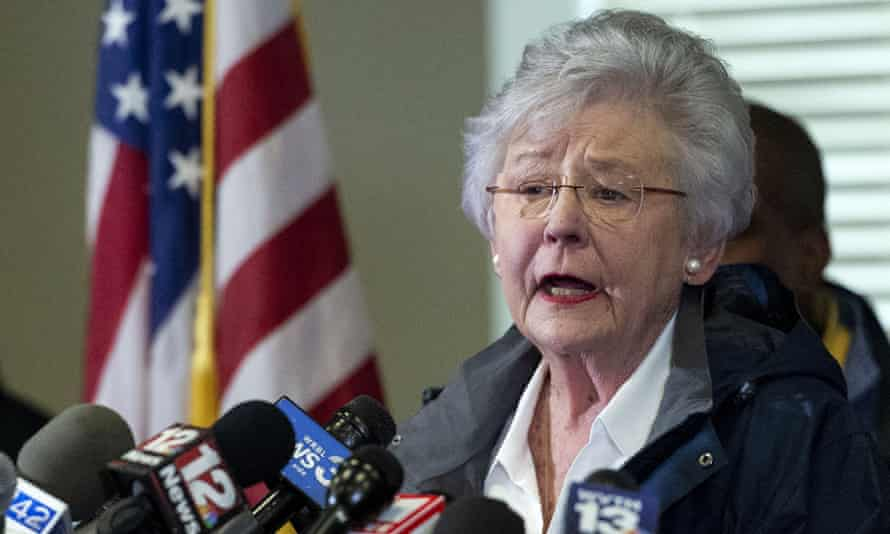 'It's the unvaccinated folks that are letting us down,' said Kay Ivey.
