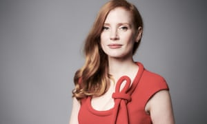 'I've just spoken up' … Jessica Chastain.