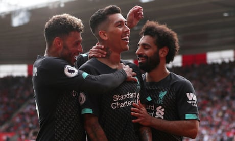 Southampton 1-2 Liverpool, Norwich 3-1 Newcastle and more – as it happened