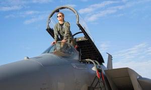 High flier … Larson in Captain Marvel.