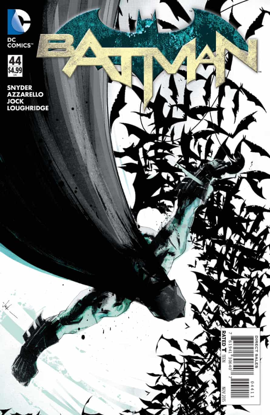The cover of Batman comic #44.