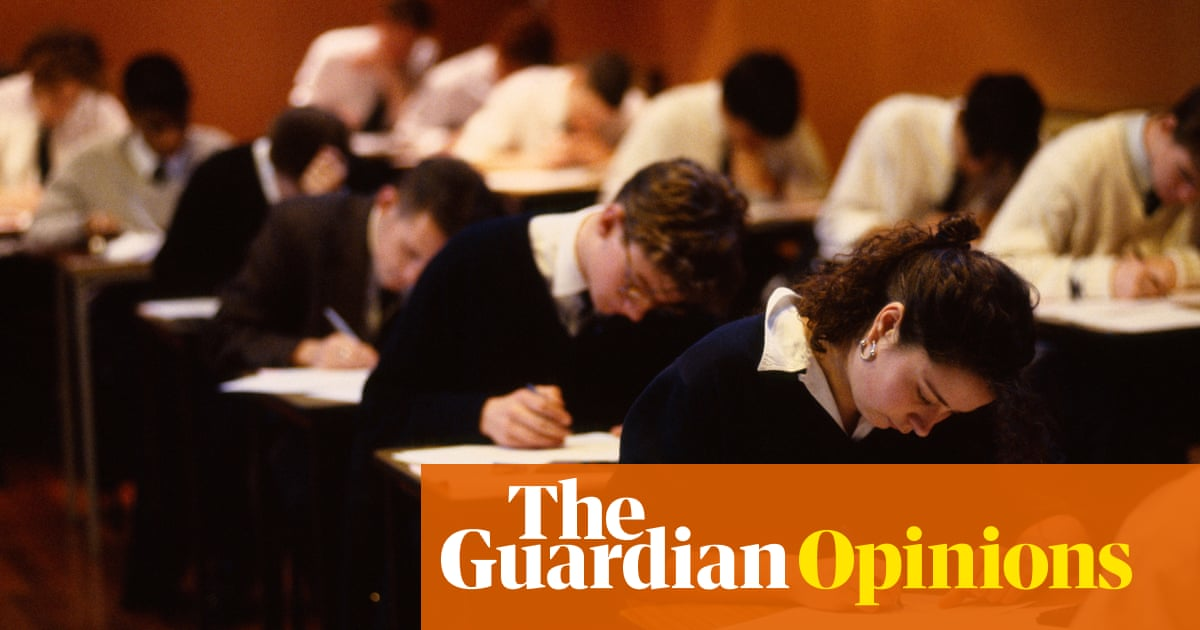 My worst exam result – and how it affected me | Opinion | The Guardian