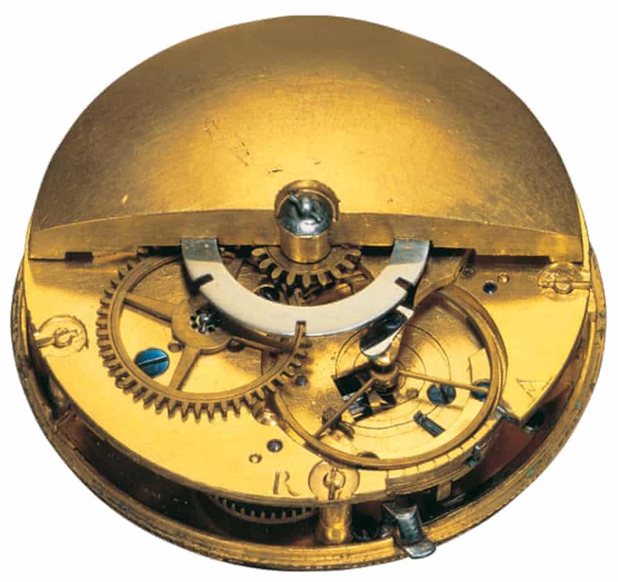 Abraham Louis-Perrelet's pedometer watch