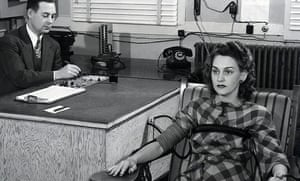 Lie detection tests were administered as part of security screening in Oak Ridge where the Clinton Engineer Works in 1942 on isolated farm land as part of the Manhattan Project.