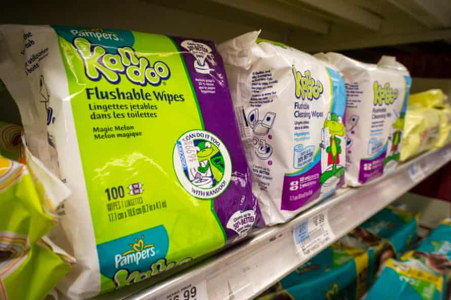Pampers Kandoo brand wipes