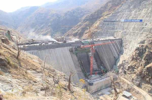 Kafue Gorge hydroelectric plant