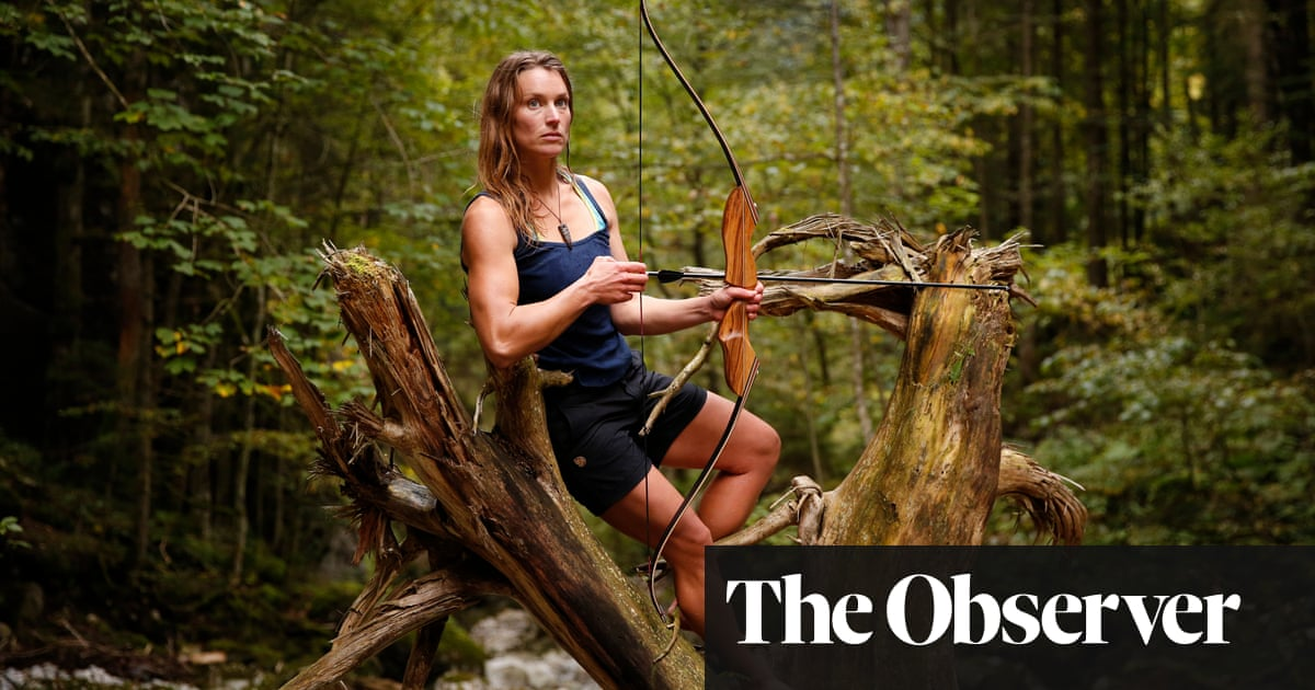 Wild at heart: how one woman and her husband live out in the woods