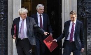 Boris Johnson, David Davis and Gavin Williamson