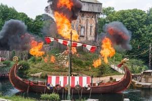 Puy de Fou's viking show
