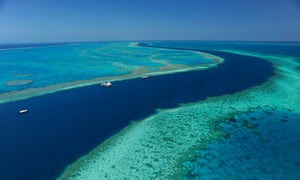Hardy Reef, on the Great Barrier Reef