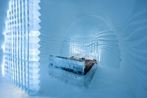 Icehotel December 2015: Eye Suite design by Nicolas Triboulot and Cédric Alizard