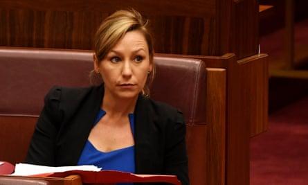 Greens senator Larissa Waters in parliament