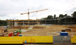 The site of the new school in Sevenoaks. Why are grammar schools expanding, when any benefit to children attending them is outweighed by the impact on those left behind?