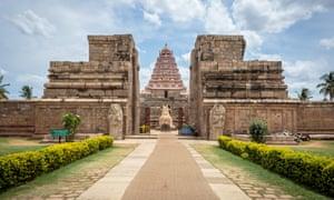 Thanjavur temple.