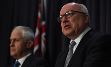 Malcolm Turnbull and attorney general George Brandis