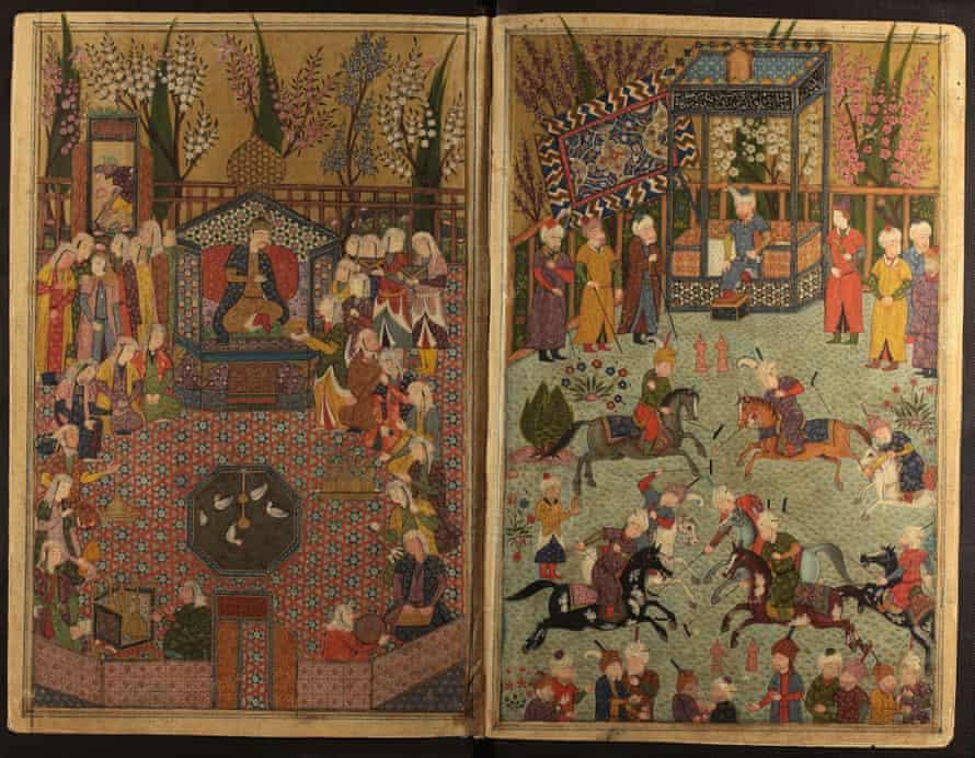Manuscript dating from 1484 of Nur al-Din Jami's Tuhfat al-Ahrar.