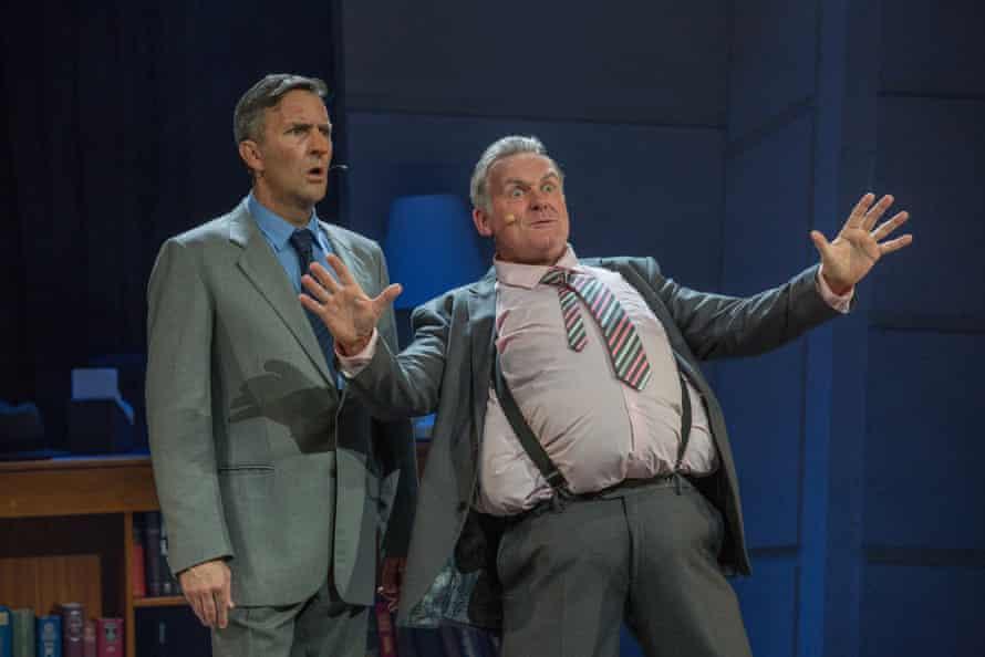 Colin Lane (as Joh) and  Simon Burvill-Homes (as Russ Hinze)