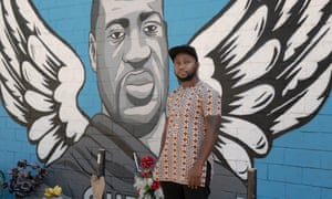 Ola Osaze, 44, first came to the United States at 15 and was eventually granted asylum. Photograph: Bryan Schutmaat/The Guardian