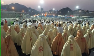 Pilgrims at Mecca in September this year.