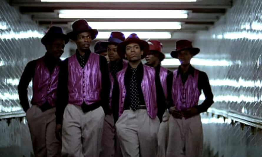 Street gang The Boppers from the film The Warriors