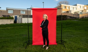 Charlotte Holloway, the parliamentary Labour candidate for Plymouth Moor View, photographed at West Park in Plymouth.
