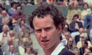 McEnroe in In the Realm of Perfection.