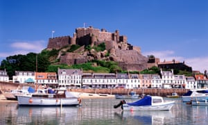 Jersey manages £350bn at any one time – except the money is actually in London ... the island's Gorey harbour and Mont Orgueil castle.