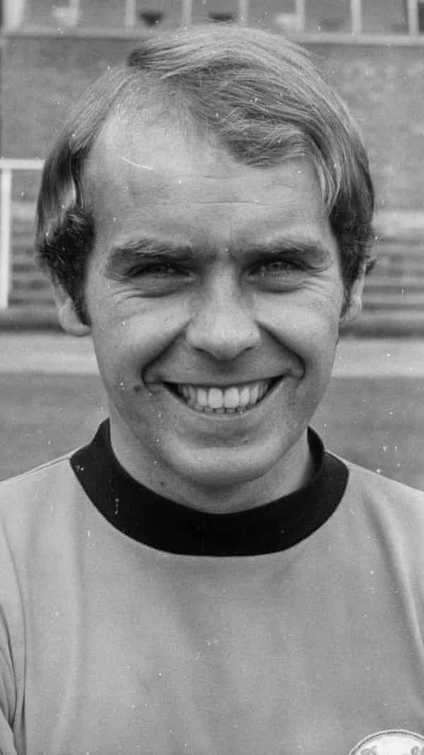 Dundee United player Kenny Cameron in August 1972.