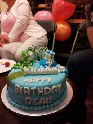 Dean's 30th birthday cake.