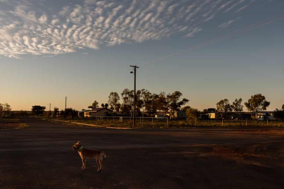 Dawn in Windorah.
